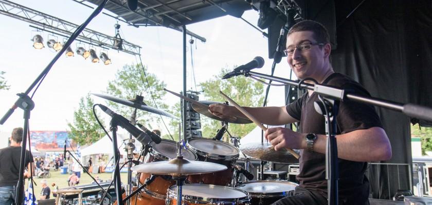 Louis Nadeau - Professeur de batterie