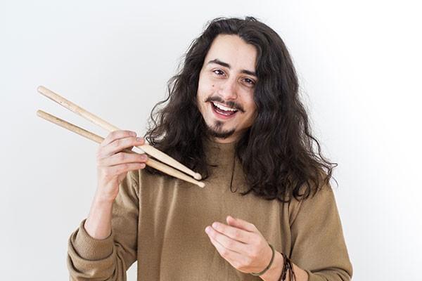Mathieu Racine - Professeur de batterie